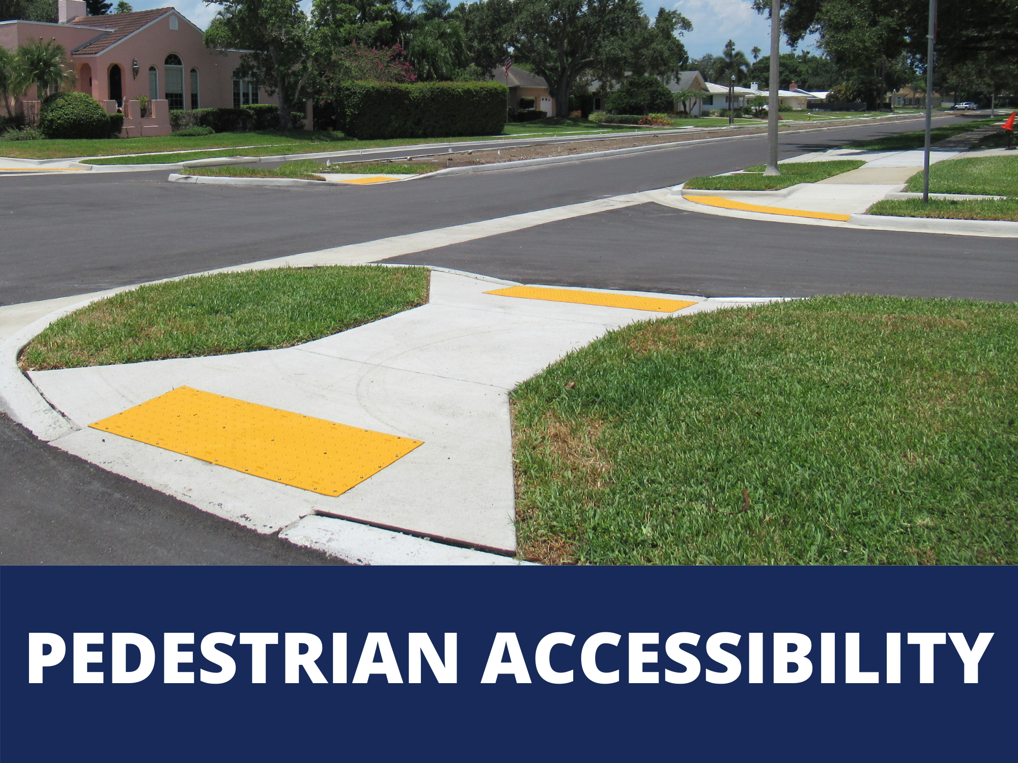 Visit Belleair's web page on pedestrian accessibility efforts